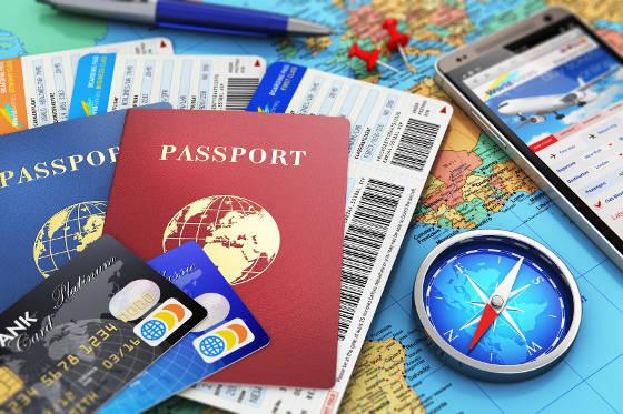 Booking international airfare online