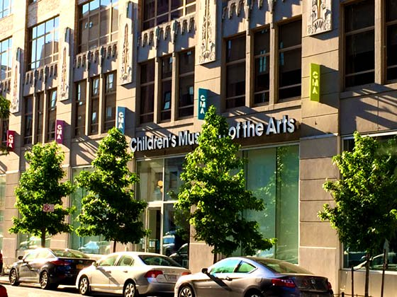 Visit the Children's Museum of the Arts at 103 Charlton St, New York, NY