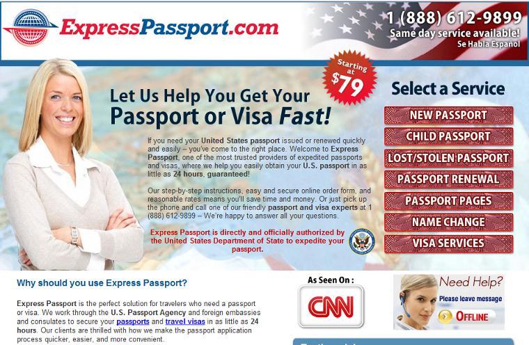 ExpressPasspor.com Expedited Media LLC