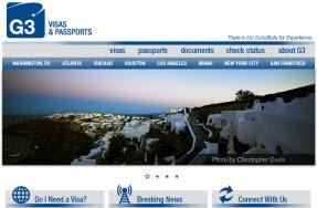 G3 Visas and Passports Expediting Service