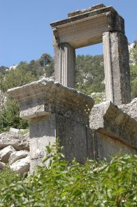 Hadrianus Propylaion Termessos Antalya Turkey