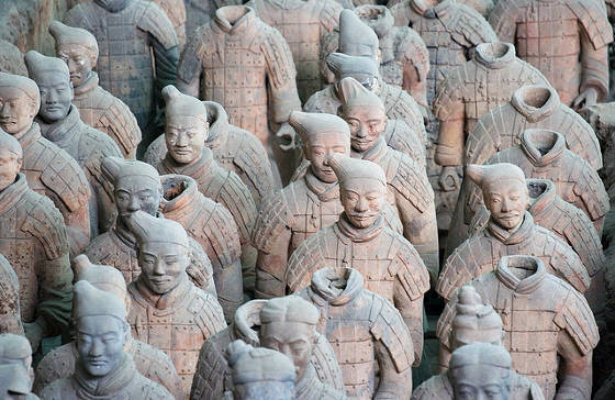Xian Terracotta Warriors.