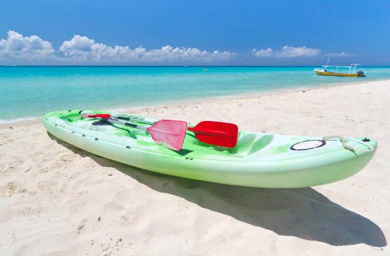 Kayak on Playa del Carmen