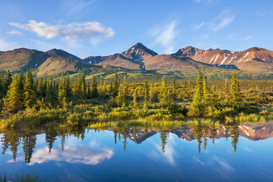 Lake in Alaska.