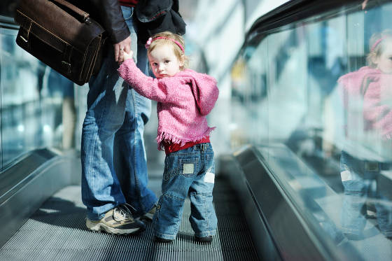 Minor child traveling with one parent