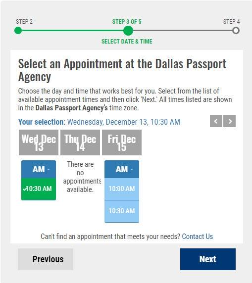 How to Schedule a Passport Appointment Online