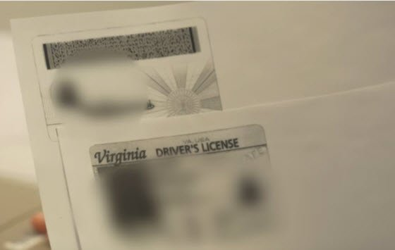 Photocopy of Identification Document Used to Apply for a United States Passport