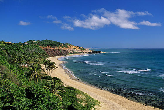 Pipa is another beautiful beach near the Northeaster Brazil city of Natal.
