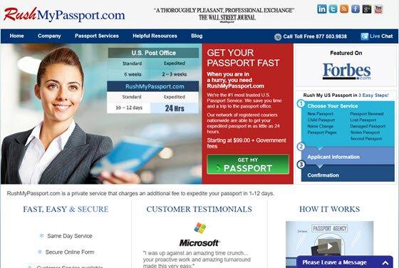 Rush My Passport