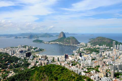 Sugar Loaf Mountain in Rio de Janeiro Brazil