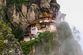 Taktsang Palphug Monastery in Bhutan
