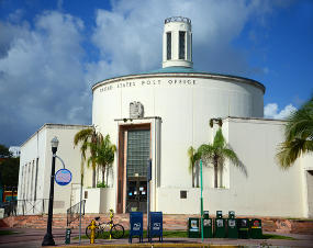 Passport Application acceptance facility at Miami Beach post office