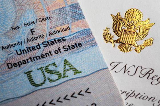 U.S. Passport and Certificate of Naturalization.
