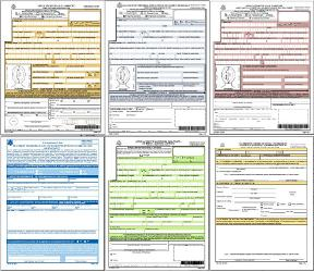 United States Passport Application Forms