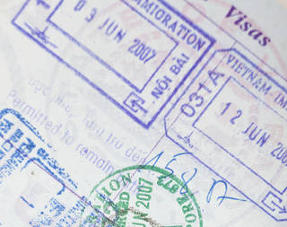 Vietnam Visa in American Passport