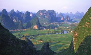 Yangshuo near Guilin on Li River