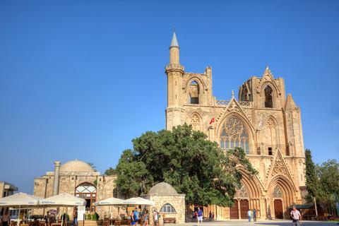 Lala Mustafa Pasha Mosque in Famagusta Cyprus