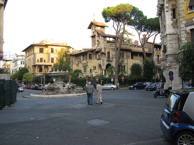Piazza Mincio in Coppadé Quartiere
