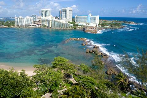 San Juan Puerto Rico Resort from Condado Beach