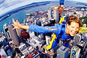 Sky Tower Sky Jump Auckland New Zealand