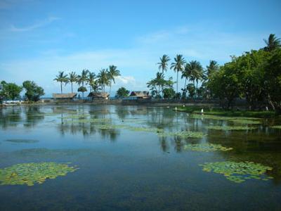 The Candi Dasa Lagoon in Bali