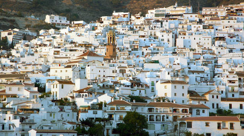 Competa Spain - A small Spanish village in Andalusia