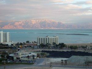 Ein Bokek on the Dead Sea in Israel