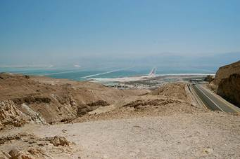 View of Dead Sea
